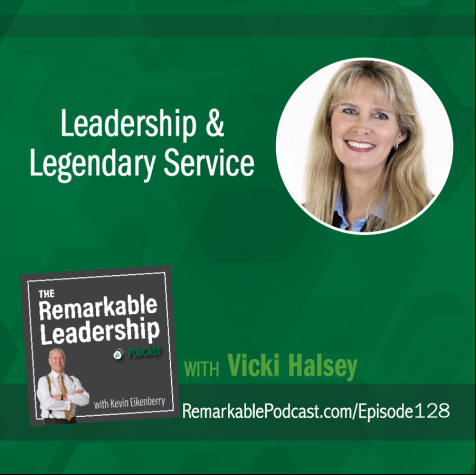 Leadership And Legendary Service With Vicki Halsey The Rem Cover